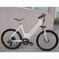 500W Super Power Sports Electric Bike with 36V/10Ah Lithium Battery, 38kph Maximum Speed