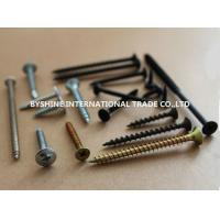 countersunk philips bugel head black phosphate drywall screws Manufactures