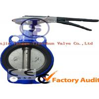 Environmental ANSI DIN Cast Iron Butterfly Valve with DI CI WCB SS , Customized Manufactures