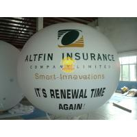 Huge Waterproof advertising balloons with two sides digital printing for Celebration day Manufactures