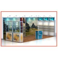 3mx6m Exhibition Craft Show Booth Displays , Portable Fair Booth Manufactures