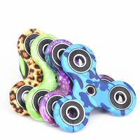 New EDC Tri-Spinner Fidget Spinner Toys Camouflage Pattern Hand Spinner Plastic ADHD Adults Children Education Manufactures
