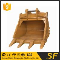 Canbe customized 6cbm Excavator rock bucket fit for CAT390 made in China with good quality Manufactures