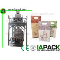 Vacuum Automatic Pouch Packing Machine Form Fill Seal with Linear Scales Manufactures