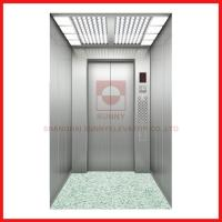 China Hairline Stainless Steel High Speed Passenger Elevator Speed 2.5~4.0m / S on sale