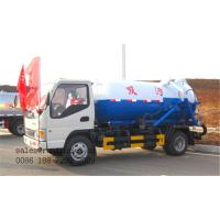 China Dongfeng 4ton 4000L Vacuum Sewage Suction Tank Trucks for Sale Manufactures