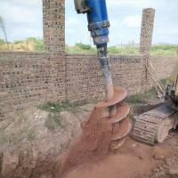 Excavator attachments earth drill auger Manufactures