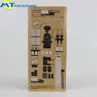 Kraft paper Eight-side coffee packing bag self-sealing custom printing pouch Manufactures