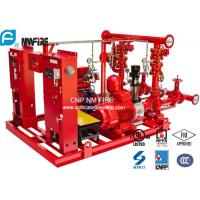 High Performance Centrifugal Fire Pump System 115PSI With 24.6kw MAX SHAFT Power Manufactures