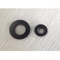Flexible Black Super Sintered Ferrite Magnet / Magnets Used In Speakers Manufactures