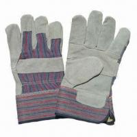 Gloves, Made of Cow Leather, Customized Requirements and Designs are Accepted Manufactures