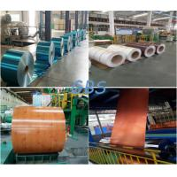Non Alloy Color Coated Aluminum Coil Multi Colors Precoating PE / PVDF Paint Manufactures