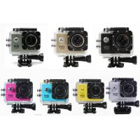 Professional Small Portable HD 1080P Action Camera Waterproof with12MP CMOS Sensor Manufactures
