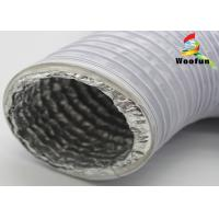 Quality Airtight Single Layer High Temperature Flexible Duct 8 Inch PVC Aluminum for sale