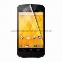 High Transparency Screen Protector for LG Nexus 4, for LG Nexus 4 Screen Protector  Manufactures