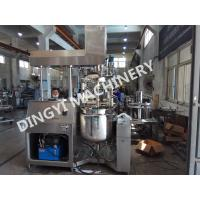 Pharmaceutical Cream Vacuum Emulsifying Machine High Shear Mixer Hydraulic Lifting Manufactures