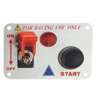 Automotive Racing Switch Panel With Flip Up Cover , Racing Toggle Switch Manufactures