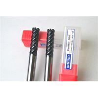 Multi Flute High Performance End Mills , Dia 8 MM Milling Machine Cutting Bits Manufactures