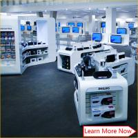 China mobile phone accessories display showcase cellphone shop racks counter furniture on sale