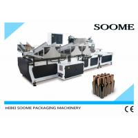 Automatic Corrugated Carton Box Machine Electric For Inserting Cardboard Partition Manufactures