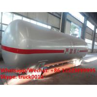 China Best-Selling ASME standard cylindrical 25000L surface lpg storage tank for sale, Wholesale best price lpg gas tank on sale