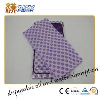 House Kitchen Cleaning Wipes , Non Stick Disposable Dish Cleaning Rags Manufactures