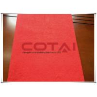 Buy cheap Hot Red Alpaca Fabric With Wool Double Sided Woolen Fabric 80 Gram / Meter from wholesalers