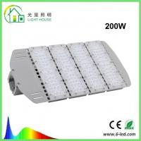 High Efficiency IP66 Solar Powered LED Street Lights Retrofit 180W Replace HPS Sodium Lamps Manufactures