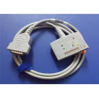 China GE Marquette 22341809 Ecg EKG Cable With 10 Lead Wires MAC500 / 1100 Model on sale