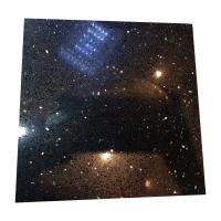 Black Galaxy Artificial Quartz Stone Slabs , Black Galaxy Quartz Countertop Manufactures
