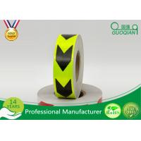 Buy cheap Dark Self Adhesive Arrow PET Reflective Electrical Warning Tape For Truck / Vehicles from wholesalers