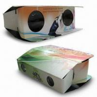 Foldable Cardboard Binoculars with with Lightweight, Made of Paper Material Manufactures