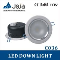 Energy-saving 4 inch 1*10W COB LED Down light with IES/DIALUX files Manufactures