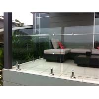 Hot-selling stainless steel spigot frameless glass railing/ glass balustrade Manufactures