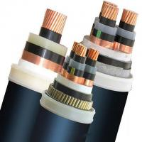Industrial Multicore PVC Insulated Power Cable Copper Conductor Medium Voltage Manufactures