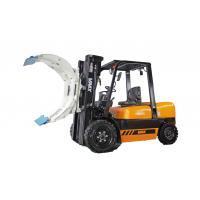 Hydraulic Heavy Duty Narrow Aisle Forklift Truck , Stand Up Reach Forklift Manufactures