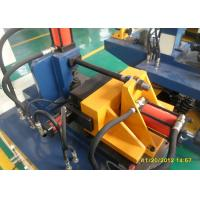 PLC Servo Motor Tube End Forming Machines For Square / Rectangle / Oval Pipe Expanding Manufactures