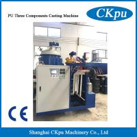 China Popular PU Polyurethane Elastomer Resin Products Foam Making Casting Injection Machine for Roller on sale