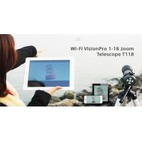 Best Value WiFi Spotting Scope 80mm For Hunting , Nature Watching Manufactures