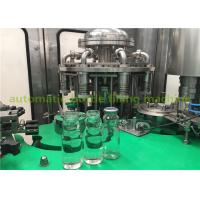 China Glass Bottle Grape Juice Liquid Hot Filling And Packing machine / Plant on sale