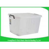 China Portable Plastic Storage Boxes With Lid , Recycled Big Plastic Storage Boxes on sale