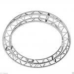 Aluminum Circle Spigot Truss , Square Circular Truss For Display Decorate Manufactures