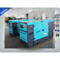 30Kva Silent 2mm Thick Canopy Diesel Generator Set Powered By Isuzu / Lovol Diesel Engine