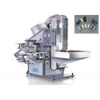 Auto Hot Foil Stamping Machine 25mm - 60mm Length Lid For Soft Tube Plastic Caps Manufactures
