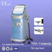 China Effective ND YAG Laser Tattoo Removal Machine Vertical  With LCD Display on sale