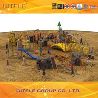Cargo Net Climbing Wall , Childrens Climbing Net Outdoor For Parks Manufactures