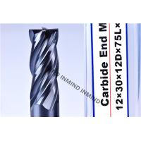 AlTiN Coating High Speed Steel End Mill 16mm / 18mm / 20mm 2Flute 4 Flute M42 Co8% Manufactures