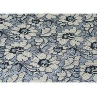 Elastic Brushed Lace Shrink Resistant Fabric For Lingerie / Underwear CY-LQ0001 Manufactures