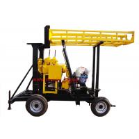 JXY200 Trailer Mounted Water Borehole Drilling Equipment With 200m Drilling Capacity Manufactures