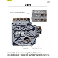 01M Auto Transmission valve body with solenoid Manufactures